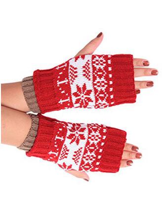Retro / Vintage/Crăciun atractivă/Vreme rece/Crăciun mănuși