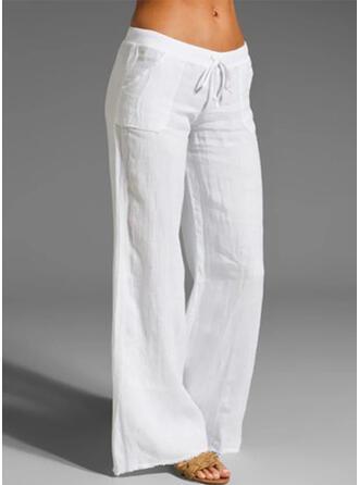 Jednolity Długo Nieformalny Długi Jednolity Spodnie