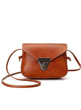 Klasszikus/Vintage/Bohém stílus/Szuper kényelmes Satchel/Crossbody táskák/Válltáskák/Boston τσάντες/Vödör táskák
