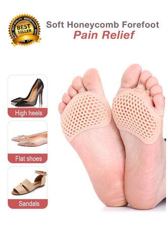 Couleur unie/Creux Protecteur/aux femmes/Antidérapant/Doux Chaussettes