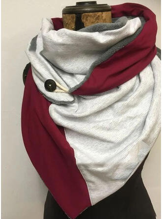 Color Block/Retro/Vintage/Stitching Shawls/fashion/Comfortable Scarf