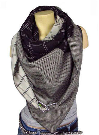 Tela escocesa/Retro /Vendimia/Costura moda/Cómodo Bufanda