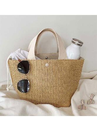 Encanto/Clásica/Estilo bohemio/Trenzado/Simple/Super conveniente Bolsas de mano/Bolsas de playa/Bolsas de Hobo/Bolsa de almacenamiento