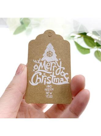 カード用紙 クリスマスの飾り