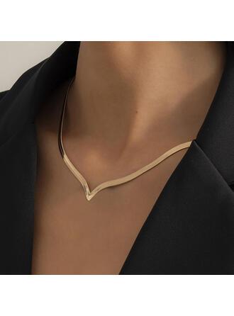 med Guldpläterad Kvinnor Damer' Halsband 1 st