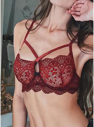 Krajka Sexy Hluboké V Bez Vycpávky Podprsenka