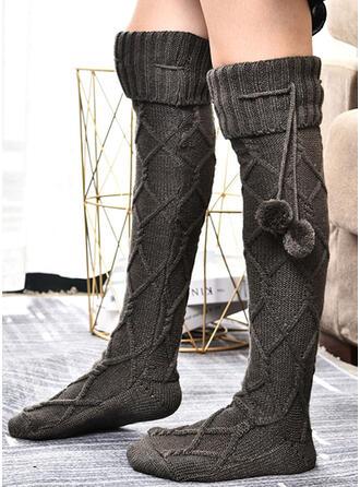 Crochet Chaud/aux femmes/Chaussettes hautes Chaussettes/Bas