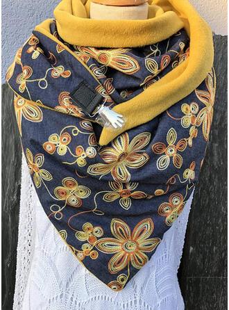 Retro /Vendimia/Impresión moda/Cómodo/Colorido Bufanda