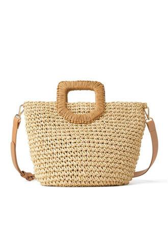 Elegante/Clásica/Antiguo/Estilo bohemio/Trenzado Bolsas de mano/Bolso de Hombro/Bolsas de playa