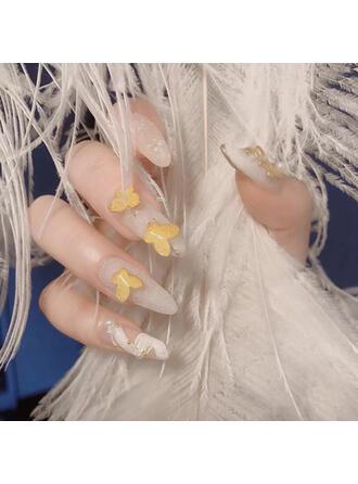 Náhodná barva Jednoduchý Klasický Nálepka na nehty Dekorace na nehty ()