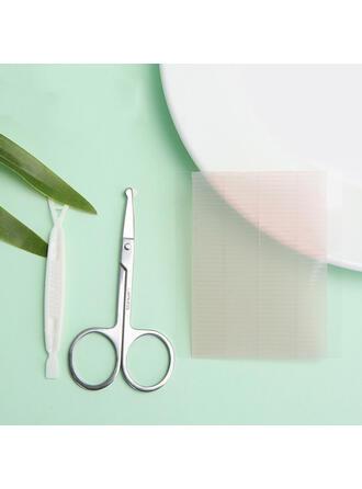(Sada 500) Jednoduchý Klasický Nůžky na obočí Nálepka s dvojitým víčkem ()