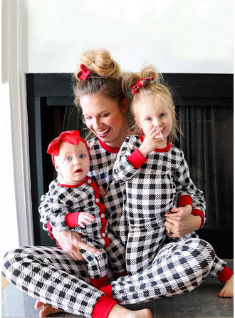 Xadrez Impressão Família Combinando Natal Pijama