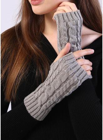 Culoare solida/croșetat modă/Confortabil mănuși