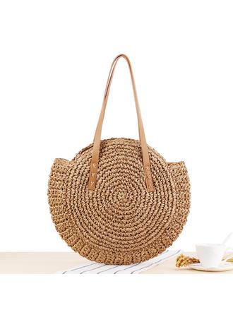 De moda/Trenzado poliéster Bolso de Hombro/Bolsas de playa