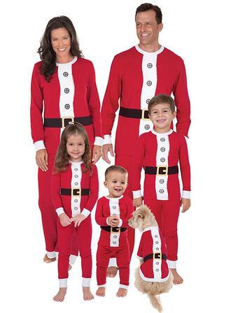 Color-Block Familia a juego Pijamas De Navidad