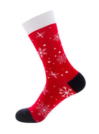 Αναπνεύσιμος/Χριστούγεννα/Κάλτσες πληρώματος/Για άνδρες και γυναίκες Κάλτσες