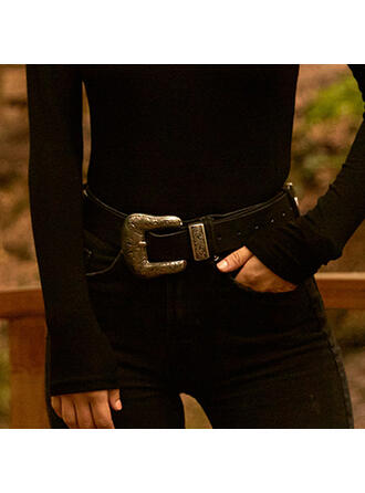 Vintage Alloy PU Women's Belts