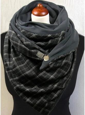 Tela escocesa/Retro /Vendimia de gran tamaño/moda/Cómodo Bufanda