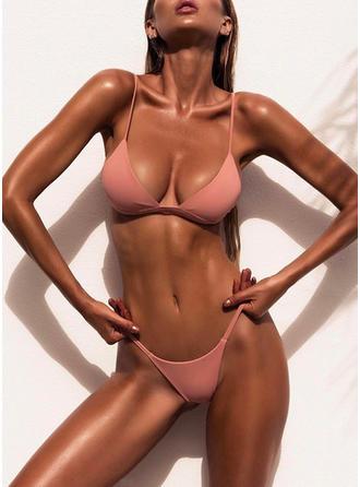 Cintura Baja Tanga Correa Sexy Bikinis Trajes de baño