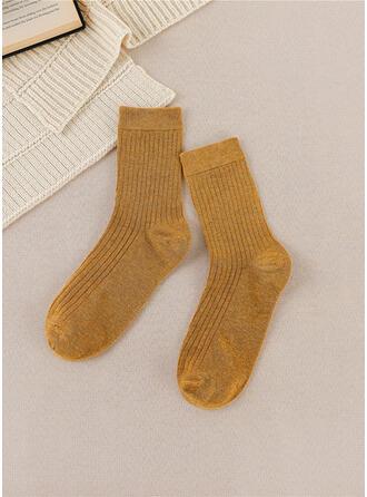 Couleur unie Chaud/Confortable/aux femmes/Chaussettes Quarter Chaussettes