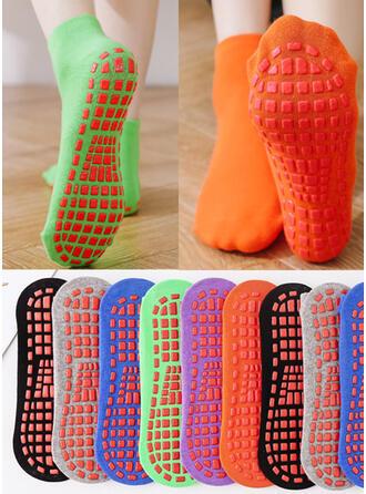 Jednobarevná jednoduchý/Posádkové ponožky Ponožky