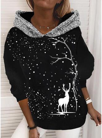 Zwierze Πούλιες Μακρυμάνικο Χριστουγεννιάτικο μπλουζάκι