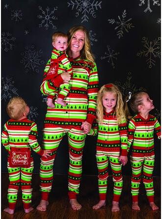 Carta Impresión Familia a juego Pijamas De Navidad