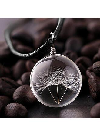 Chic Glass Unisex Necklaces