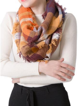 カラフル 暖かいです/柔らかい スカーフ
