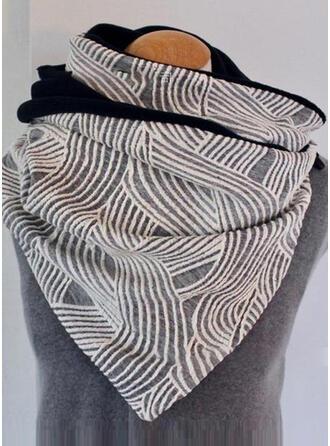 Gestreift/Geometrische drucken attraktiv/mode Schal