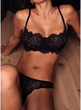 Polyester Lace Lingerie Set