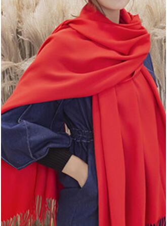 ソリッドカラー スカーフ