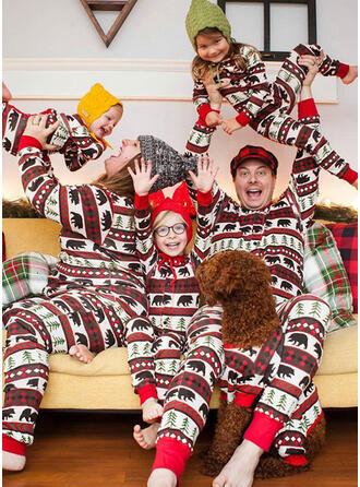 Oso Impresión Familia a juego Pijamas De Navidad