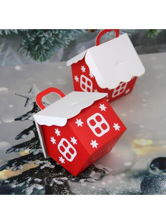 カード用紙 クリスマスの飾り キャンディーバッグ (12点セット)