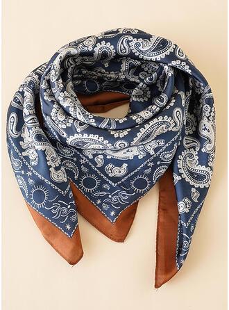 フローラル 魅力的/ファッション/シンプル/快適 スカーフ/スクエアスカーフ