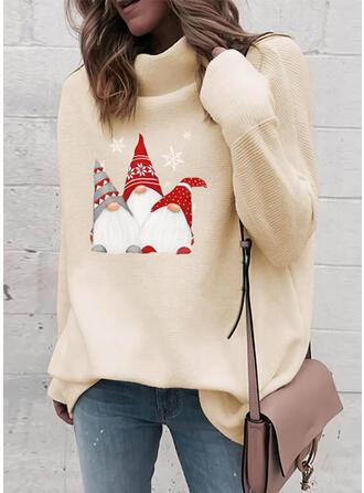 Nadruk Garbó Hétköznapokra Karácsony πουλόβερ