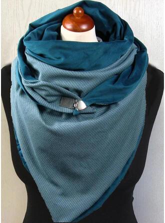 Colore solido oversize/moda/semplice Sciarpa