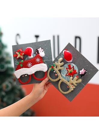 ポリエステル クリスマスジュエリー (単一片で販売)