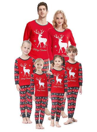 Venado Impresión Familia a juego Pijamas De Navidad