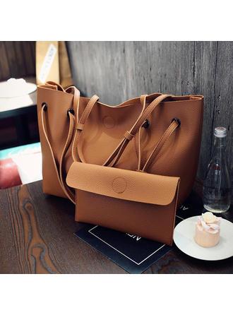 Elegant/Culoare solida Tote Bags/táska készletek/Portofel şi Cureluşă