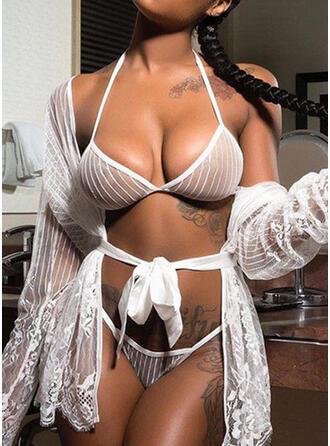 Nylon Mesh Set di lingerie