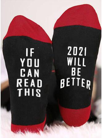 Buchstaben/Druck Komfortabel/Crew Socks/2020/Unisex Socken