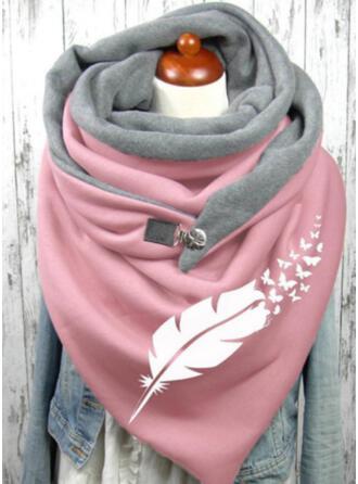 印刷 暖かいです/柔らかい スカーフ