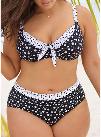 Punto Correa Sexy Talla extra Bikinis Trajes de baño