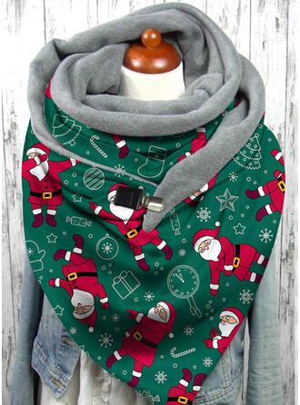 Christmas Style/Christmas Santa Skin-Friendly/Women's/Christmas Scarf