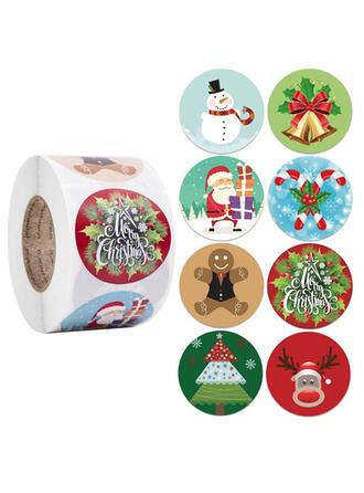 ポリエステル クリスマスの飾り ホームアクセント (単一片で販売)