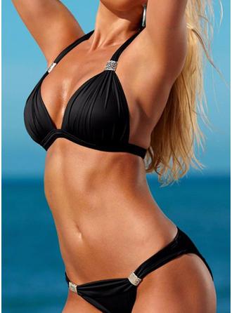 Enfärgad Grimma Sexig bikini Badkläder